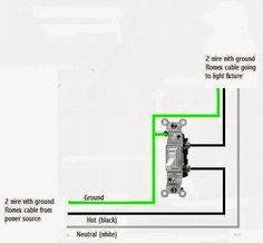 22 best light switch wiring images electrical outlets electrical rh pinterest com