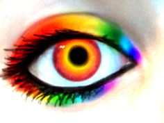 Glitter Graphics: the community for graphics enthusiasts! Pretty Eyes, Cool Eyes, Beautiful Eyes, Amazing Eyes, Amazing Makeup, Glitter Balloons, Glitter Gif, Rainbow Eyes, Rainbow Colors