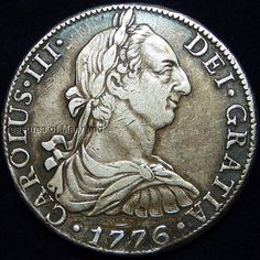Historical 1776 Charles III Spanish Silver 8 reales! sku #A90