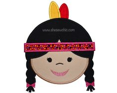Indian Girl by www.sugarbeachdesigns.com