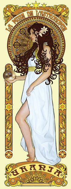 Urania__Art_Nouveau_poster_by_aelirenn_kw