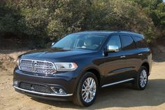 2014 Dodge Durango: 2014 Dodge Durango New Dodge Durango, Driving Test, Places, Lugares