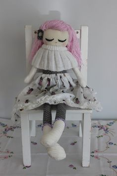 Cloth Doll Plush : Ava