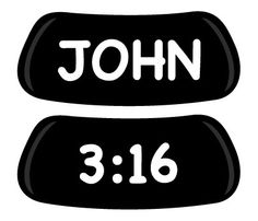 John 3:16 - Need this for team Red Letters in the color run!
