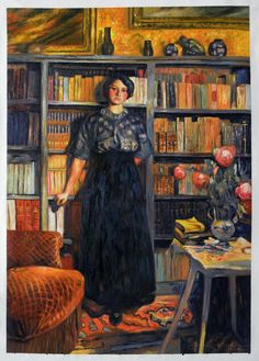 Portrait of Mademoiselle Jacqueline Fontaine (study) / Edouard Vuillard - 1911 Pierre Bonnard, Edouard Vuillard, Felix Vallotton, Paul Gauguin, Maurice Denis, Woman Reading, Reading Art, Reading Books, Post Impressionism