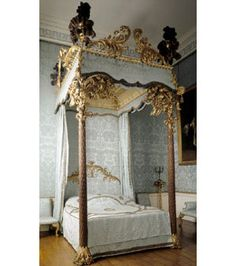 Palm State Bed Kedleston Hall, 1762.