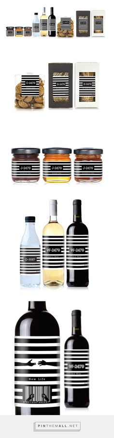 2479 Prisoner Product designed by Prompt design. Such great story behind this range, I strongly recommend reading it by clicking on the source. Pin curated by #SFields99 #packaging #design