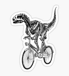 Hipster stickers featuring millions of original designs created by independent artists. 4 sizes available. Bike Stickers, Cool Stickers, Printable Stickers, Dinosaur Tattoos, Homemade Stickers, Hand Embroidery Projects, Tumblr Stickers, Pretty Shirts, Aesthetic Stickers