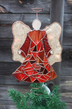 Stained Glass Angel.