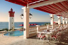 The Oyster Box hotel, Umhlanga (near Durban), South Africa ...