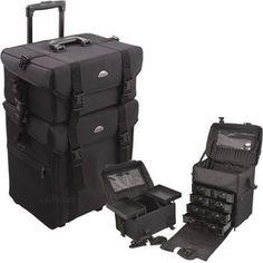 Black Trolley 1680d Nylon Case - C6007
