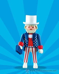 5203, Playmobil Uncle Sam.