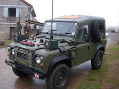 Ex British Forces Land Rover Defender XD Tdi 90 'Wolf' Replica.