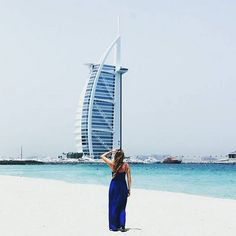 Awesome Burj Al Arab #Dubai - great shot from our follower @nanja__  Tourlina app download link in bio Tourlina app --> community of inspiring female travelers photographers & storytellers. Tag your pic with #myfavtourlina #femaletra