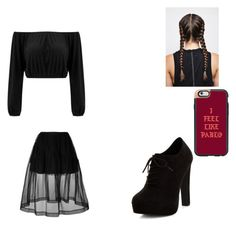 """""""Doria"""" by leilx ❤ liked on Polyvore featuring Simone Rocha, New Look and Casetify"""