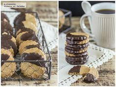 Galletas integrales con chocolate