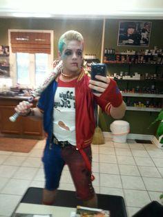 boy harley quinn genderbender