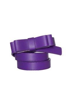 Blondie Bow Belt