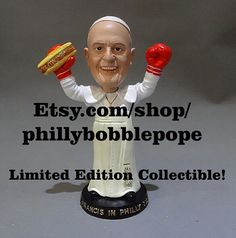 PHILLY POPE BOBBLEHEAD by PhillyBobblePope on Etsy