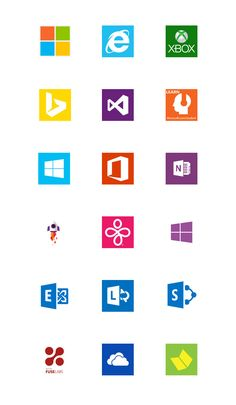 microsoft brands icons brand architecture office