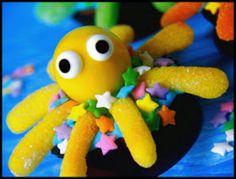 Cupcake octopus