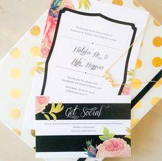 Personalized Wedding Invitation  Bohemian by LoveLoveMeDoDesigns