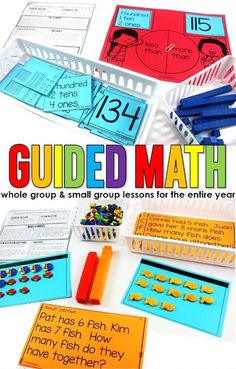 Lesson Plans for the Guided Math Structure