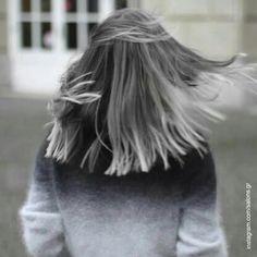 Tendance coloration : connaissez-vous l'ombré gris ?