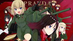 2 Katyusha (Girls Und Panzer) HD Wallpapers | Backgrounds ...