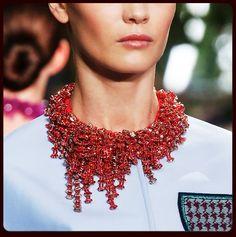 Vogue Daily — Christian Dior. NY Fashion Week Fall 2014