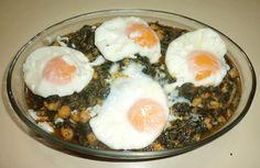 A todo varoma · Recetas para Thermomix: Receta de Espinacas con garbanzos y huevos poché con Thermomix