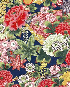 Chinese Patterns, Japanese Patterns, Japanese Design, Japanese Paper, Japanese Fabric, Asian Fabric, Oriental Print, Blue And White Fabric, Asian Design