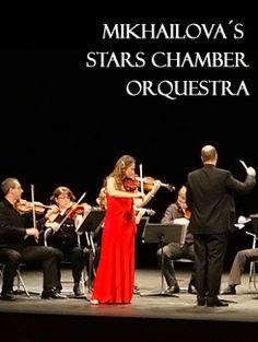 Mikhailova´s Stars Chamber Orchestra en Teatro Principal, Ourense music musica concerto concierto
