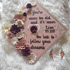 Graduation Cap Toppers, Graduation Cap Decoration, Grad Cap, Graduation Picture Poses, Graduation Pictures, Masters In Counseling, Cap Decorations, Back To School, June