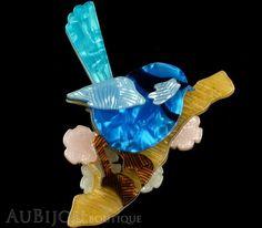 Erstwilder Bird Brooch Pin Phoebe The Fairy Wren Gallery