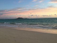 Sunrise Kailua Beach Hawaii...  My favorite place to live...