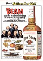 Beam Whisky 1976 Ad Picture