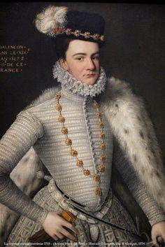 La représentation continue 1715 - (Artiste français) Prince Hercule-François, duc d'Alençon, 1555-1884, v. 1574 — exp. Les Tudors, musée du Luxembourg, Paris | by Afchine Davoudi