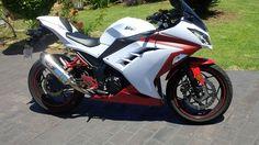 #Ninja 300 #Kawasaki #ZX3R Kawasaki Ninja 300, Paint Schemes, Motorcycles, Bike, Toys, Sport Motorcycles, Bicycle, Activity Toys, Paint Color Schemes