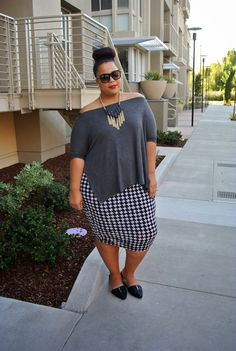 Fall Transition. Garner style - great plus size fashion blog