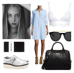"""""""111. Untitled"""" by grazzivalentina ❤ liked on Polyvore featuring Whistles, Rails, Furla, STELLA McCARTNEY and Smoke & Mirrors"""