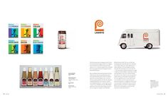 A spread from the chapter on Lawry's Seasoning & Food Company, Saul's first major identity campaign, 1950s and 1960s
