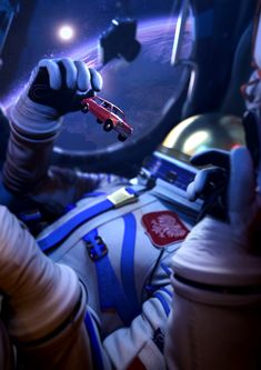 The Missed Spaceflight - VR Experience for Samsung on Behance