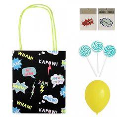 Super Hero Pre Filled Party Bag For Your Superhero Party | Meri Meri