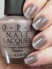 NAIL ART: subtle sponged manicure using OPI 'Germany' neutral nail polishes -