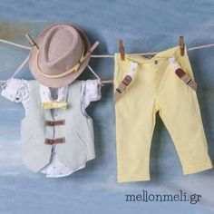 Bambolino Βαπτιστικό Σετ Aimilios συλλογή Άνοιξη/Καλοκαίρι Christening, Khaki Pants, Fashion, Moda, Khakis, Fashion Styles, Fashion Illustrations, Trousers