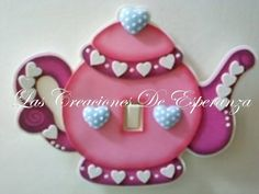 Teterita Foam Crafts, Crafts To Make, Diy Crafts, Wooden Cutouts, Ideas Para Fiestas, Paper Jewelry, Tole Painting, Polymer Clay Crafts, Mural Art