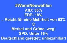 ##Neuwahlen - gerne!