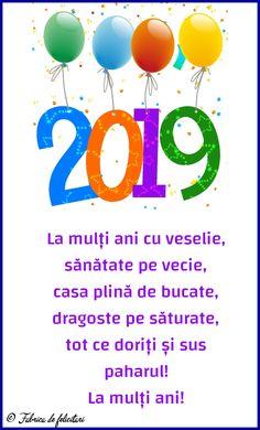 Felicitari de anul nou 2019 - La mulți ani! An Nou Fericit, Yoshi, Character, Lettering