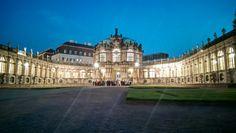 Zwinger bei Nacht, Dresden